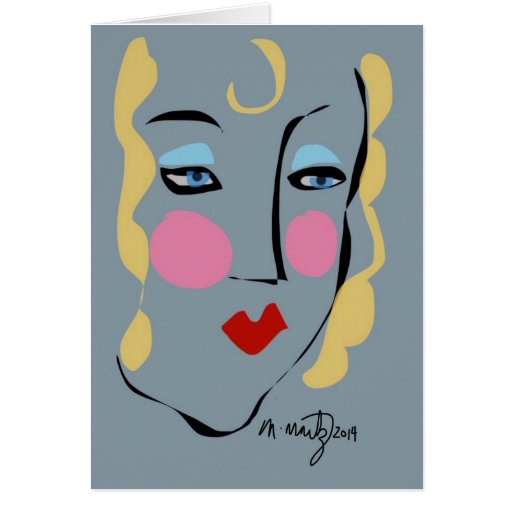 Madeleine war für Matisse wütend Karte