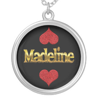 Madeline-Halskette Versilberte Kette