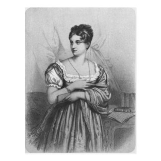 Mademoiselle George, graviert von J. Champagne Postkarte