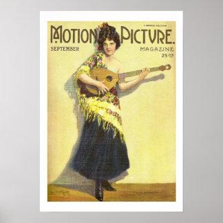 Madge Kennedy Vintager Film-Zeitschriften-Druck 19 Poster