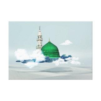 Madina islamischer Leinwandkunst-Entwurf Ostaraber Leinwanddruck