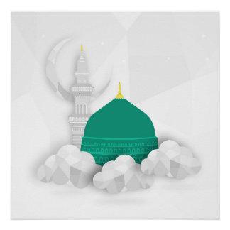 Madina islamischer Leinwandkunst-Entwurf Ostaraber Poster