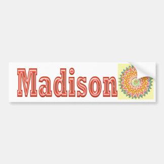 MADISON - elegante Geschenke zu n von Madison Autoaufkleber