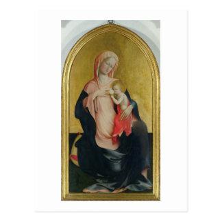 Madonna der Bescheidenheit, c.1410 (Tempera auf Postkarte