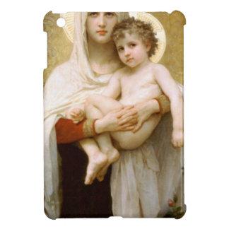Madonna der Rosen und des Säuglings-Kindes Jesus iPad Mini Hülle