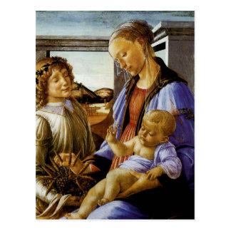 Madonna des heiligen Abendmahl Postkarte