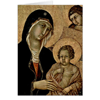 Madonna durch Duccio Karte