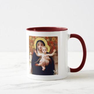 Madonna durch W.Bouguereau. Tasse