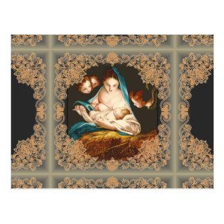 Madonna mit Baby Jesus durch Carlo Maratta Postkarte