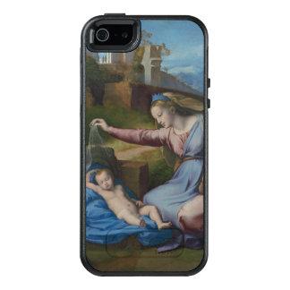 Madonna mit blauem Diadem-RAPHAEL Sanzio OtterBox iPhone 5/5s/SE Hülle