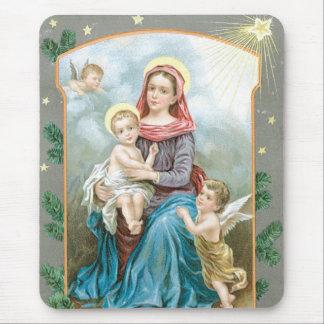 Madonna mit Christus-Kind Mauspad