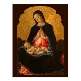 Madonna- u. Kinderkunstpostkarte Postkarten