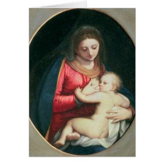 Madonna und Kind, 1598 Karte