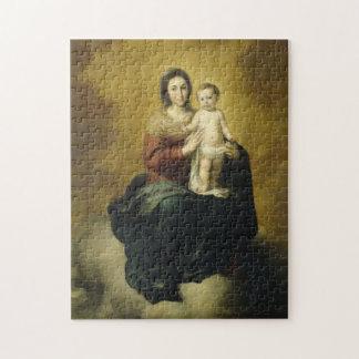 Madonna und Kind, christliche Kunst-Puzzle Puzzle