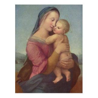 Madonna und Kind (die Tempi Madonna) durch RAPHAEL Postkarten