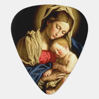 Madonna und Kind Jesus - Sassoferrato Plektron