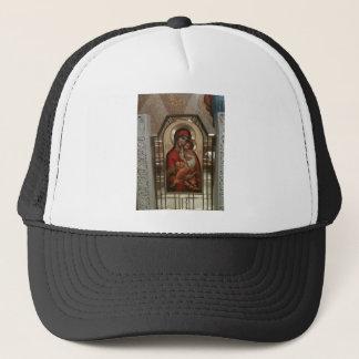 Madonna und Kind; Jungfrau Mary Truckerkappe