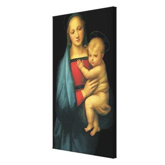 Madonna und Kind, Madonna Del Granduca durch Leinwanddruck