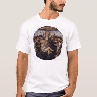 Madonna und Kind mit acht Engeln T-Shirt