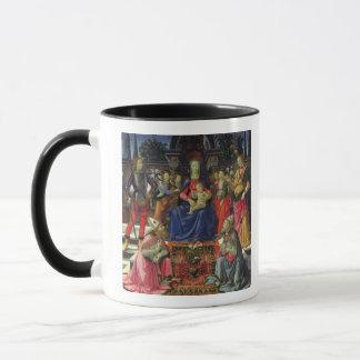 Madonna und Kind mit SS. Justus, Zenobius und Th Tasse