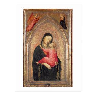 Madonna und Kind (Platte) 3 Postkarte