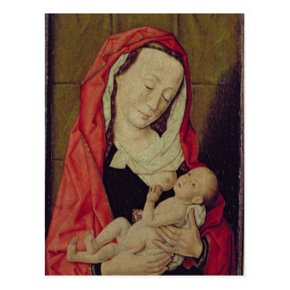 Madonna und Kind (Platte) Postkarte