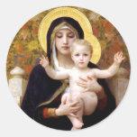 Madonna und Kind Stickers