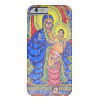 Madonna und Kunst Baby-Jesuss äthiopischer iPhone Barely There iPhone 6 Hülle