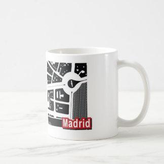 Madrid-Karte Tasse