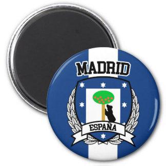 Madrid Runder Magnet 5,1 Cm