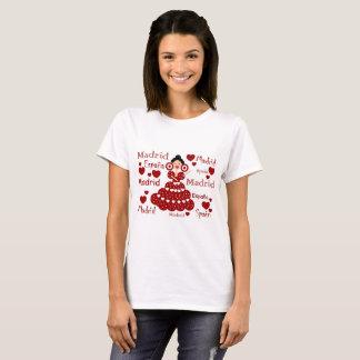 Madrid Spanien flämisches Handgelenk T-Shirt