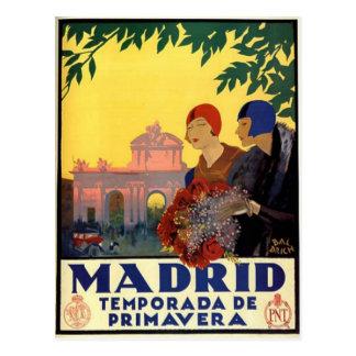 Madrid Temporada de Primavera - Vintages Postkarten