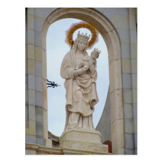 Madrids Kathedrale Postkarte