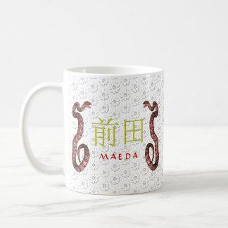 Maeda Monogramm-Schlange Kaffeetasse