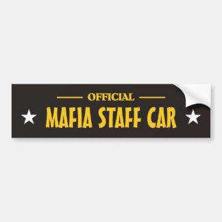 Mafia bumper_sticker autoaufkleber