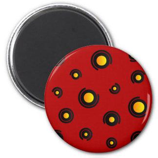 "Mag - Modell ""Sphéris"" - rot Runder Magnet 5,7 Cm"