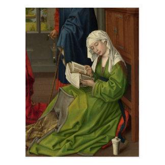 Magdalen in der grünen Lesung Postkarte