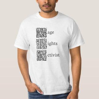 Mage Recht-Aktivist T-shirt
