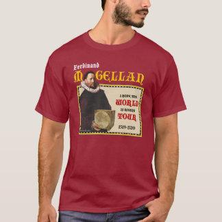 Magellan 1519 runder Weltausflug (die Dunkelheit T-Shirt