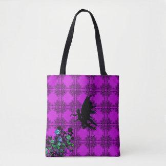 Magentarote magische feenhafte Taschen-Tasche Tasche