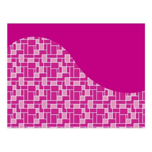 magentarote rosa lila postkarten zazzle. Black Bedroom Furniture Sets. Home Design Ideas