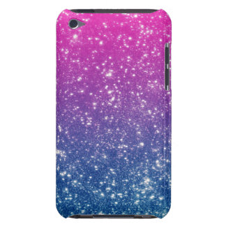 Magentaroter Ombre Glitzer iPod Touch Case-Mate Hülle