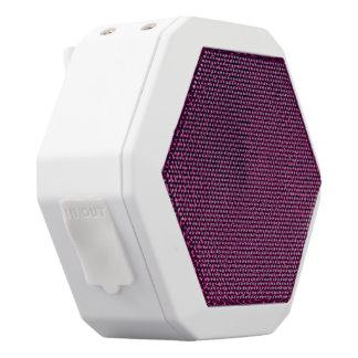 Magentaroter Strudel Weiße Bluetooth Lautsprecher