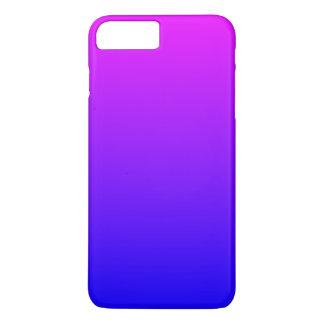 Magentarotes blaues Ombre iPhone 7 Plus Hülle