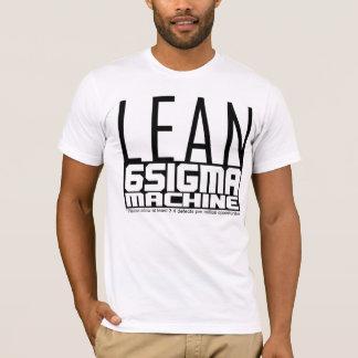 MAGERES sechs Sigma-Maschine T-Shirt