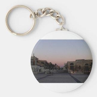 Maghrib über Amman Schlüsselanhänger