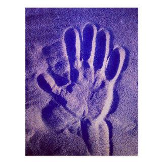Magic Hand - Postkarte