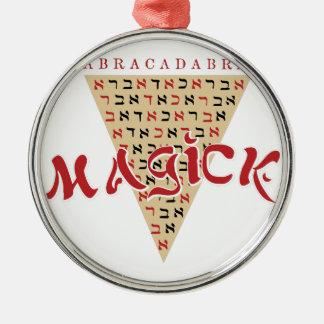Magick Silbernes Ornament