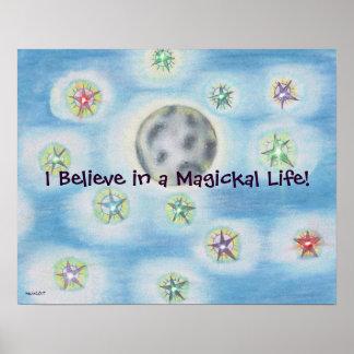 Magickal Nacht Poster