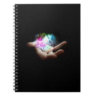 Magickal Pentagrammnotizbuch Notizblock